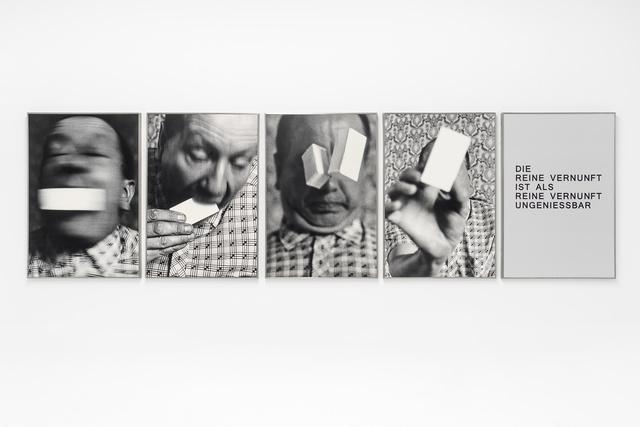 , 'Die reine Vernunft,' 1981, Buchmann Galerie