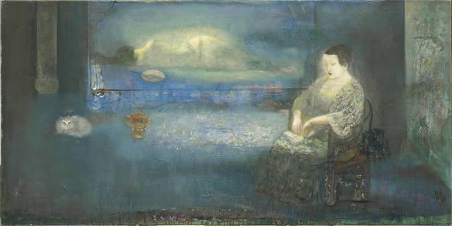 , 'Behind the Blue 蠟照半籠全翡翠,' 2015, Alisan Fine Arts