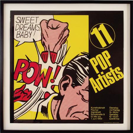 Roy Lichtenstein, 'Sweet Dreams Baby!, 11 Pop Artists', 1969, Woodward Gallery