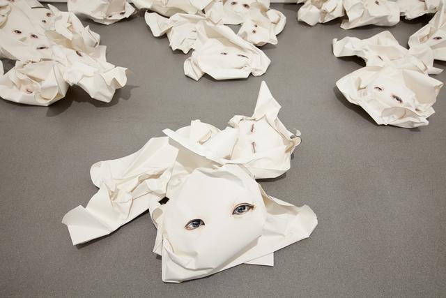 , 'Gookeyes (portraits of anxiety I) ,' 2012-2014, Sabrina Amrani