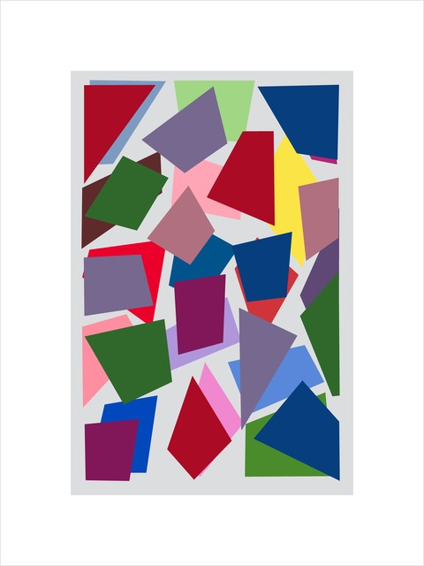 , 'Farbduett 6-16,' 2017, Fils Fine Arts