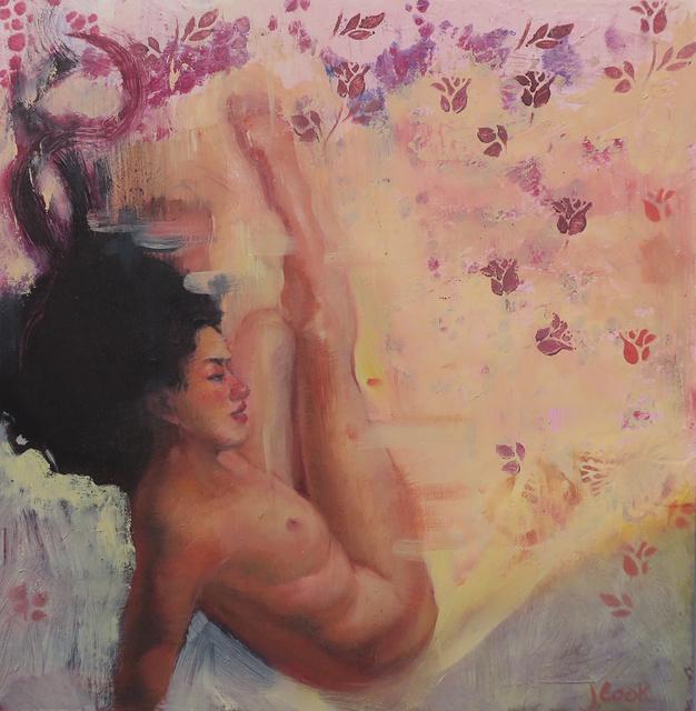 , 'Falling up Yellow,' 2017, Denise Bibro Fine Art