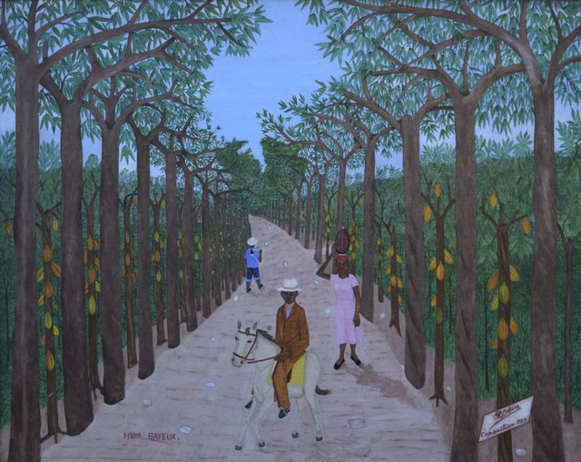, 'Habitacion Bayeux (Haitian Missionary on Horseback/Cocoa Mangrove),' ca. 1957, ZQ Art Gallery