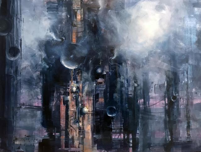, 'Smoke and Steel,' 2018, IX Gallery