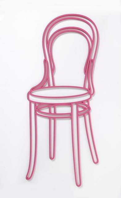 Michael Craig-Martin, 'Thonet Chair', 2019, Schellmann Art
