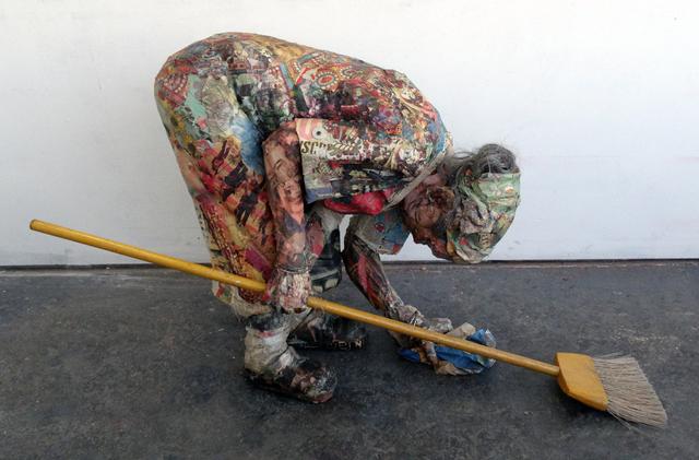 , 'Sweeping Woman,' 2011, Garvey | Simon