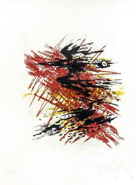 , 'Untitled V (Black Bird),' 1970, Wallector