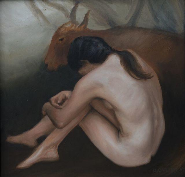 Dwayne Carter, 'Seated Nude', 2017, Ro2 Art