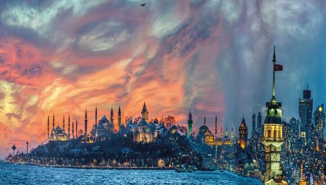 , 'Muta morphosis, Istanbul Historical Peninsula,' 2013, C.A.M Galeri