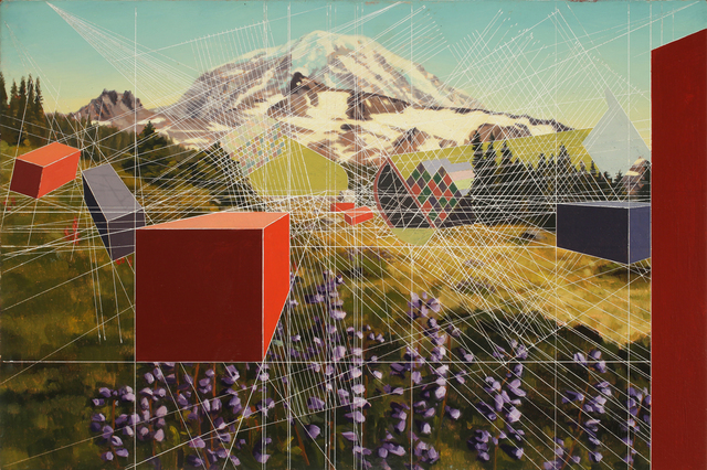 , 'Mount Rainier, After,' 2016, G. Gibson Gallery