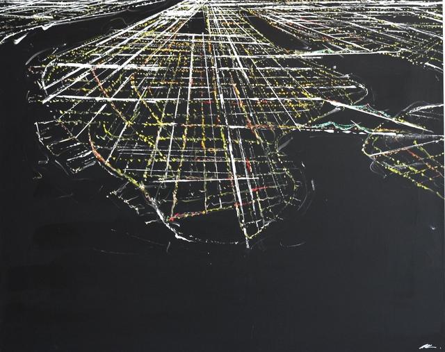 Pete Kasprzak, 'Manhattan Aerial', 2017, Artspace Warehouse
