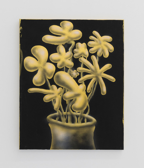 , 'Golden Flowers,' 2017, The Hole