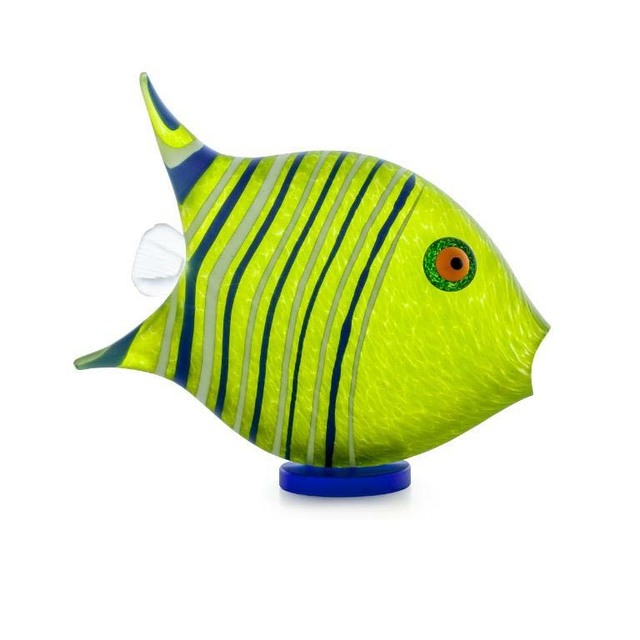 Borowski Glass, 'Angel Fish: 24-04-30 in Lime Green', 2018, Art Leaders Gallery