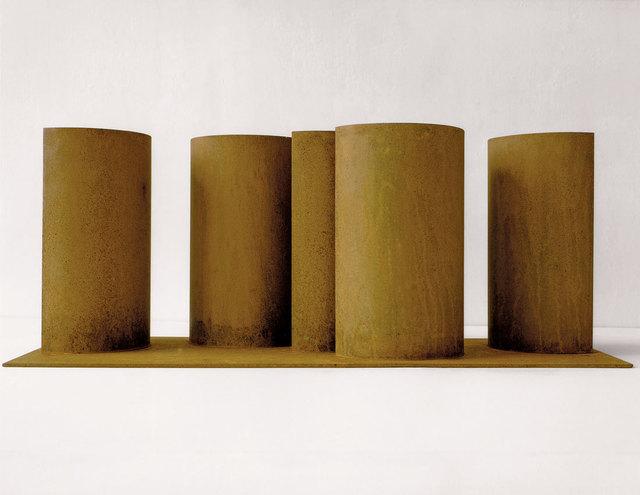 , 'Modell für Eine Skulptur aus Corten-Stahl - Halbbogen-Stelen,' 1992, Galerie Kellermann