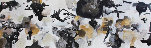 Julia Nee Chu, 'Black, White, Silver, Gold after #24', 2016, Painting, Acrylic on canvas, FP Contemporary