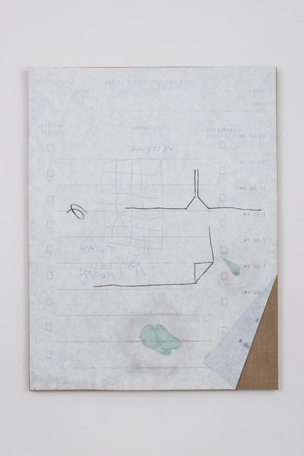 , 'DPS # 15 (Vestibule),' 2014, Bortolami
