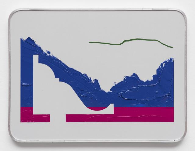 , 'Touristischer Hinweis 6,' 2017, SEXAUER Gallery