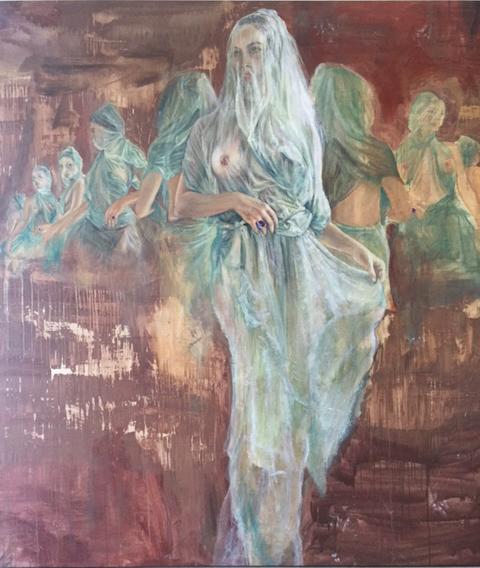 , 'Napolitan Goddess,' 2014, De Re Gallery