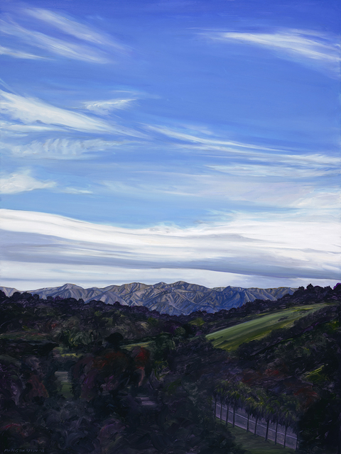 , 'Elysian Park View,' 2018, Sue Greenwood Fine Art