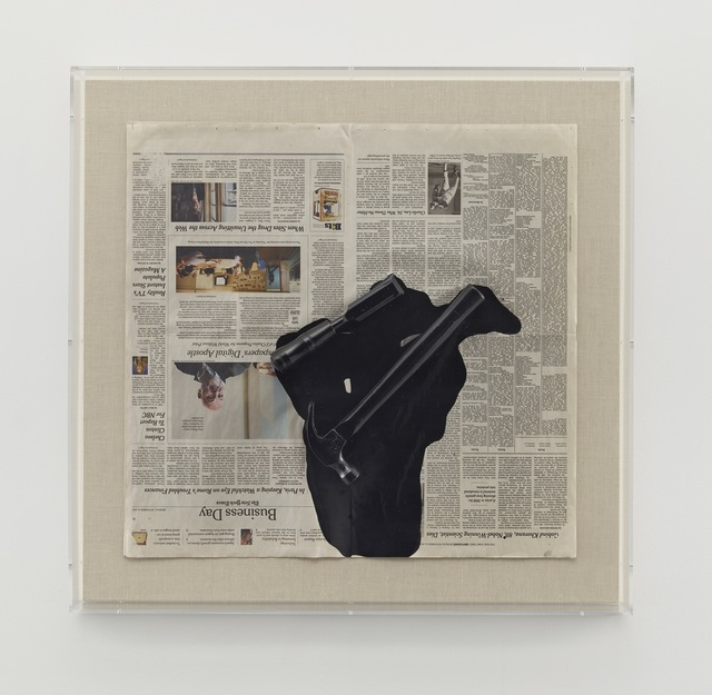 , 'Untitled (Black Form),' 2011, Matthew Marks Gallery