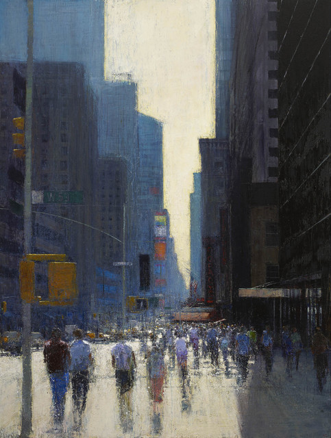 , 'Seventh Avenue, Day,' 2015, John Martin Gallery