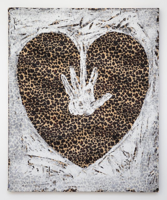 , 'Hand on Heart (Leopard),' 2017, ione & mann