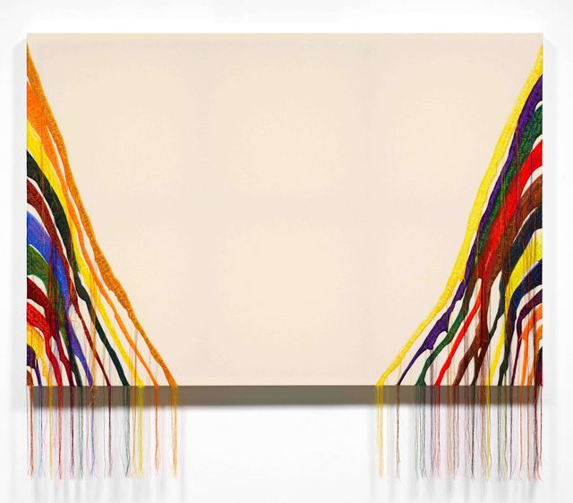 , 'Abstract Weave - Morris Louis Beta Alpha 1961,' 2014, Jane Lombard Gallery