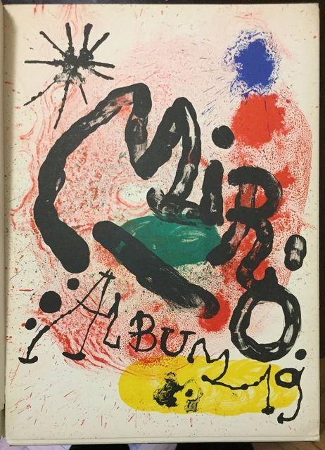 Joan Miró, 'Mirò Album 19 (Catalogo dell'esposizione alla sala Gaspar di Barcellona)', 1963, Wallector