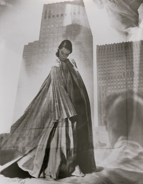 Maurice Tabard, 'Double Exposure of Fashion Model and Buildings/Man', 1948/1970s, Contemporary Works/Vintage Works