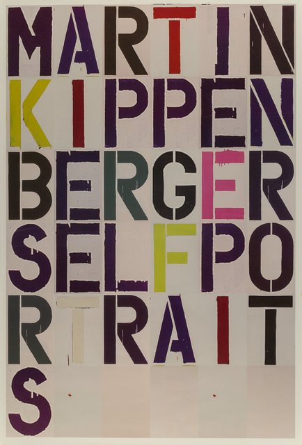 Christopher Wool, 'Martin Kippenberger: Self Portrait, exhibition poster', 2005, Heritage Auctions