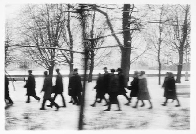 , 'Pedestrians,' 1973, Lisa Vollmer Gallery