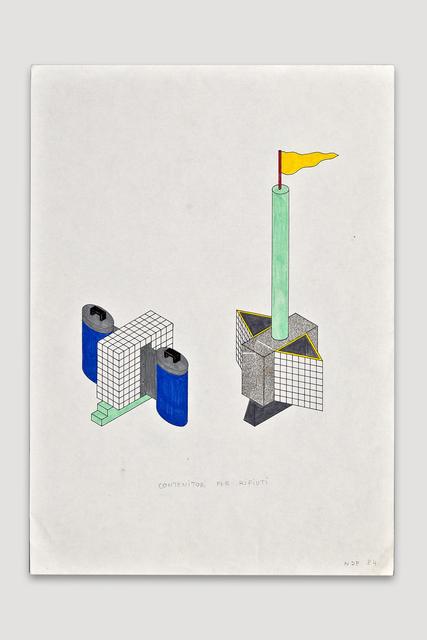 , 'Contenitori per Rifiuti (Trash Container),' 1984, The Modern Archive