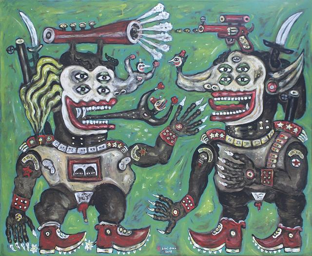 , 'The Two Generals,' 2016, Mizuma Art Gallery