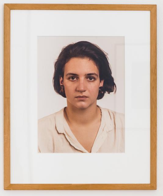 , 'Porträt (M. Baer),' 1987, Mai 36 Galerie