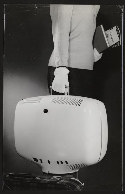 , 'Portable television set P111, Téléavia,' 1963, Les Arts Décoratifs
