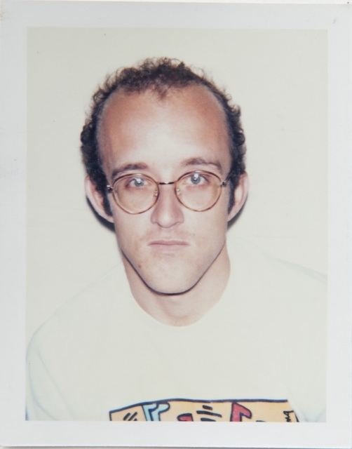 , 'Andy Warhol, Polaroid Portrait of Keith Haring,' 1986, Hedges Projects