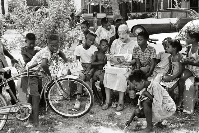 , 'Woman Reading to Children, Freedom Summer,' 1964, Fahey/Klein Gallery