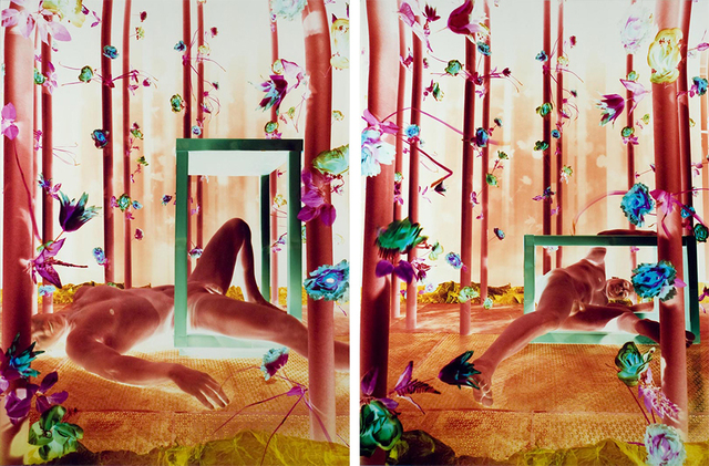 , 'Untitled (Figure Diptych),' , ClampArt