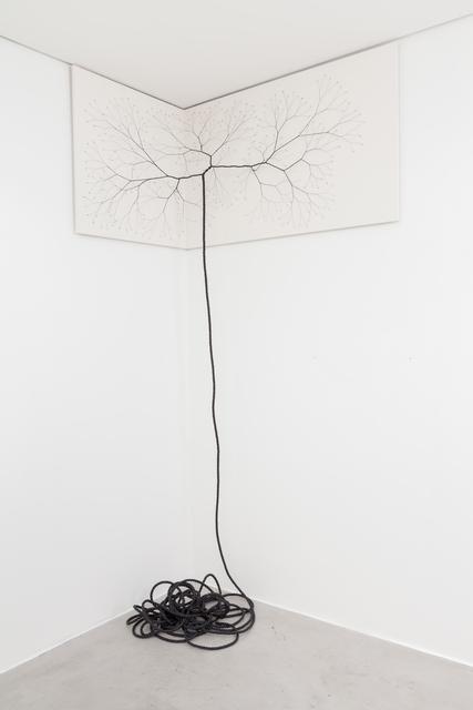 , 'Ciclotrama 43 (impregnation),' 2016, Zipper Galeria