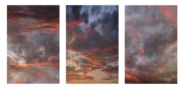 , 'Pink, Gray (Triptych),' 2018, Winston Wächter Fine Art