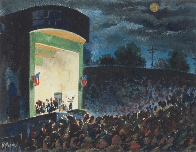 , 'Stadium Concert,' , Questroyal Fine Art