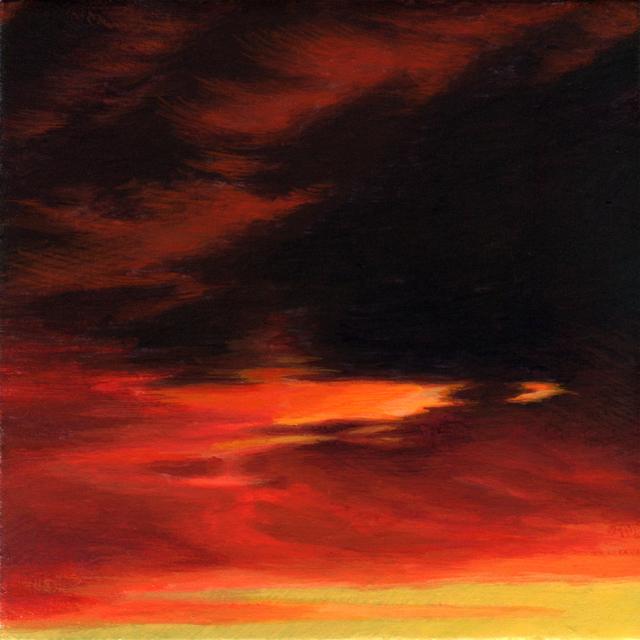Adam Mysock, 'Red Sky in the Morning (Day Three)', 2017, Jonathan Ferrara Gallery