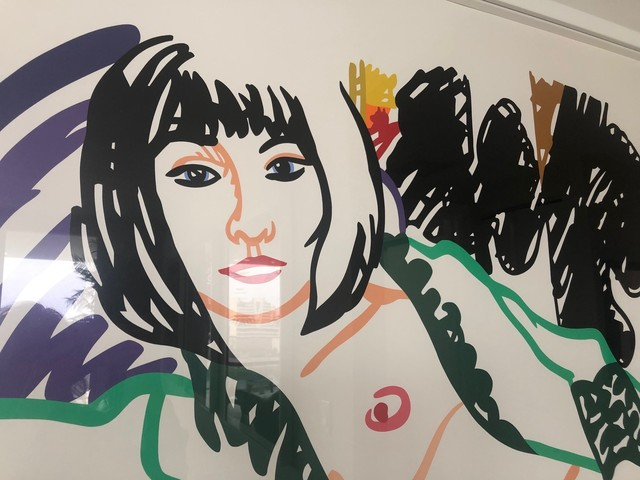 Tom Wesselmann, 'Monica in Robe with Motherwell', 1994, Print, Screenprint in color on wove paper, Provocateur Gallery