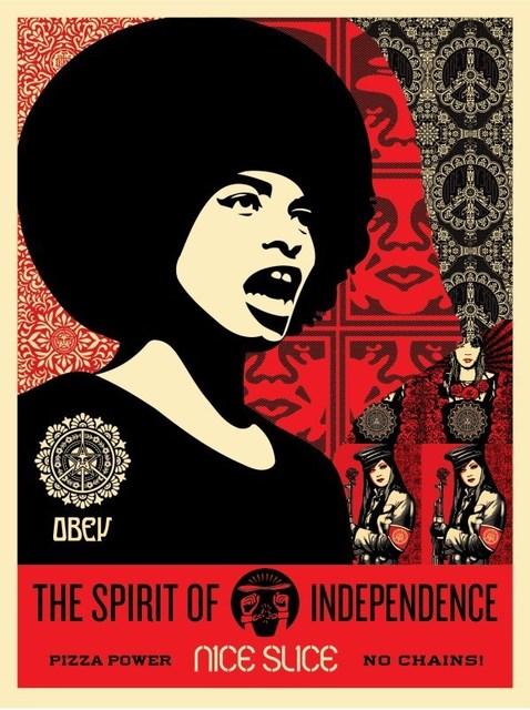 Shepard Fairey, 'Spirit of Independance', 2018, AYNAC Gallery