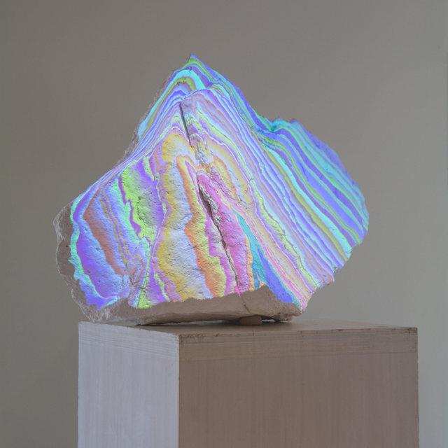 ", '""Found Rock 4"",' 2017, Gallery Madison Park"