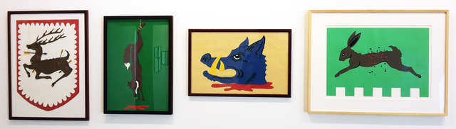 Mark Dion, 'Hunting Standards (collages)', 2005, In Situ - Fabienne Leclerc