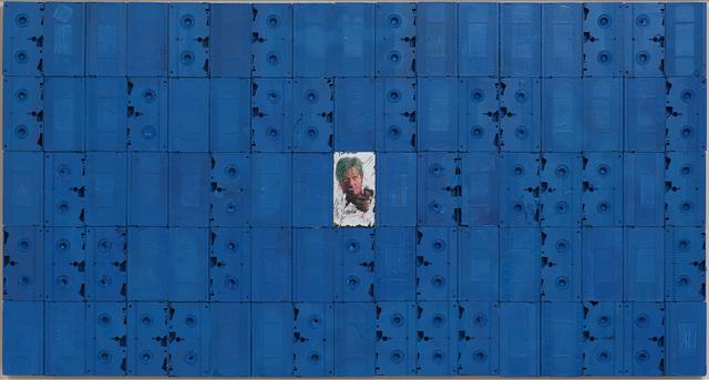 , 'Anamorphic Blue,' 2018, Gagosian
