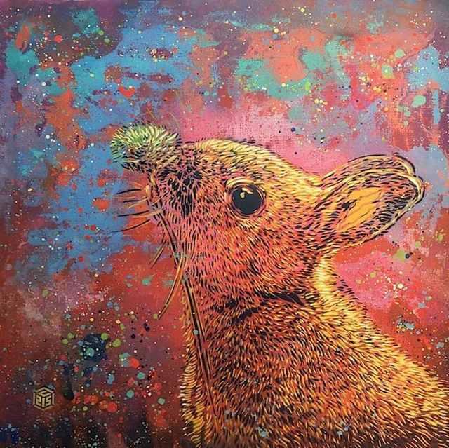 , 'Rabbit,' 2017, Mazel Galerie
