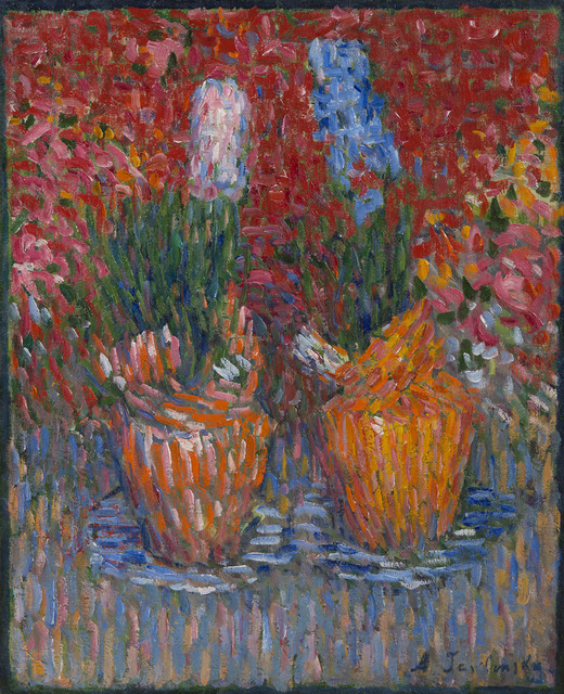 Alexej von Jawlensky, 'Jacinthes', 1902, Painting, Oil on canvas, HELENE BAILLY GALLERY
