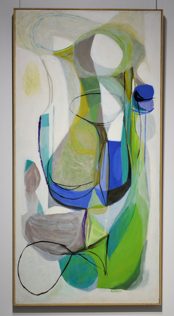 , 'NON-OBJECTIVE GREENISH,' 1955, Canadian Art Group